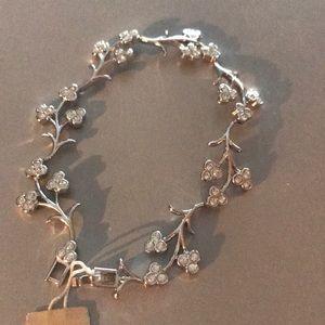 Nadri CZ Flower Tennis Bracelet